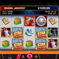 Игровой автомат Basketball Star on Fire Slot