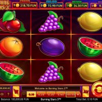 Играть в игровой автомат Burning Stars 3