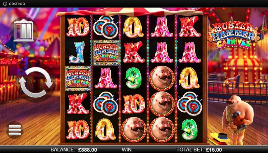 Buster Hammer Carnival игровое поле