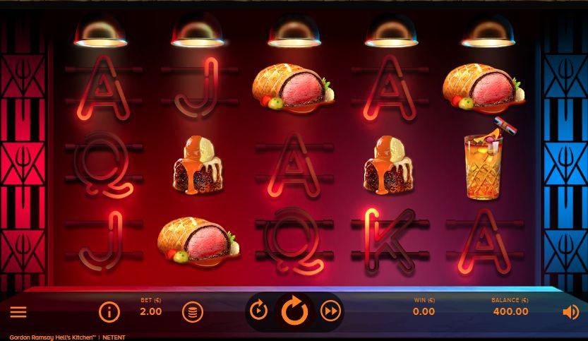 Игровой автомат Hell's Kitchen