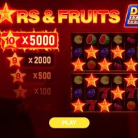 Игра Stars & Fruits: Double Hit