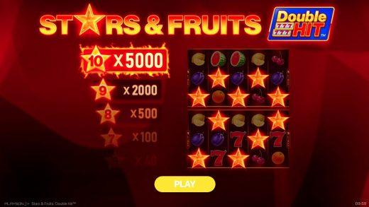 Игра Stars & Fruits: Double Hit