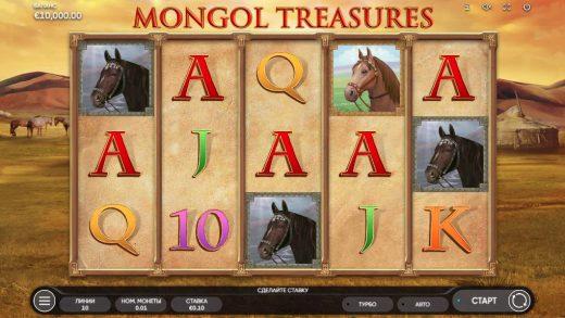 Игра Mongol Treasures