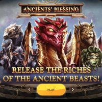 Обзор игрового автомата Ancients Blessing