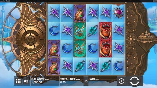Обзор игрового автомата Land of Zenith