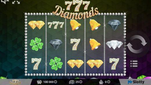 Обзор слота 777 Diamonds