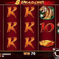 Обзор игрового автомата 8 Dragons