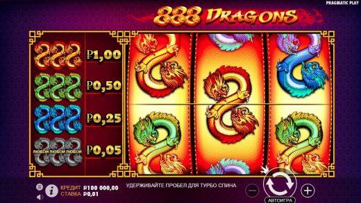 Обзор 888 Dragons