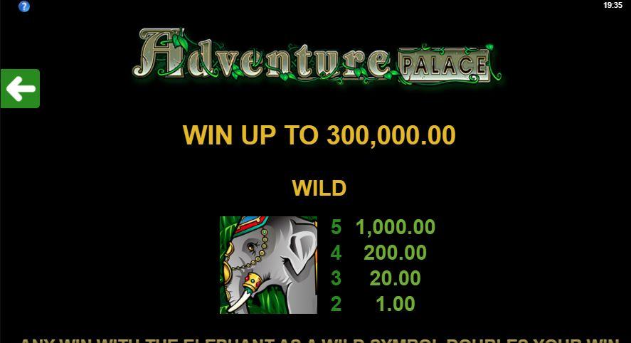 максимальный выигрыш составляет 300 000 монет