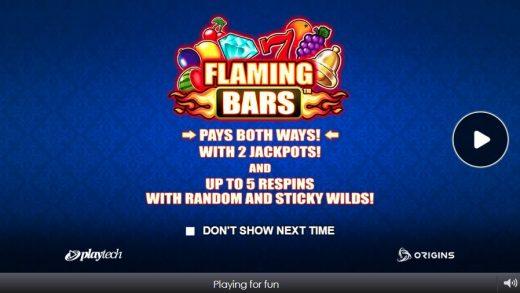 Слот Flaming Bars