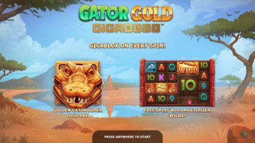 Обзор выигрышного слота Gator Gold Gigablox