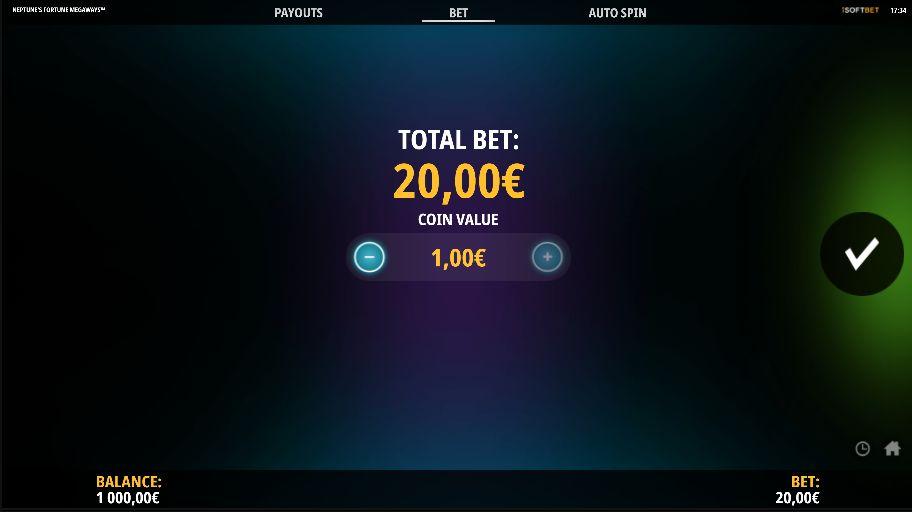 Максимальная ставка 20 евро