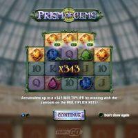 Обзор дающего слота Prism of Gems
