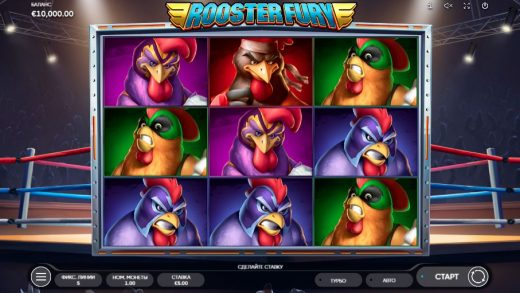 Слот Rooster Fury
