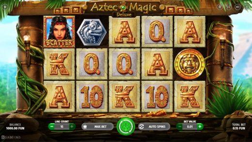 Обзор Aztec Magic Deluxe