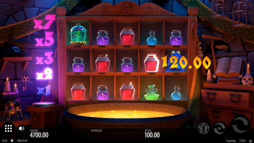 Скриншот выигрыша в 120 евро