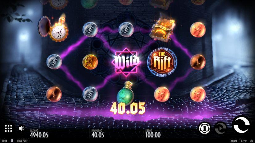 Скриншот выигрыша в 40 евро