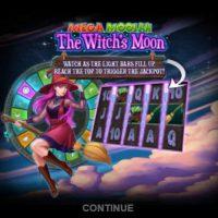 Обзор Mega Moolah The Witch's Moon