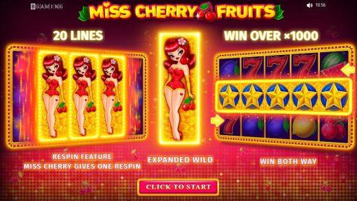 Обзор Miss Cherry Fruits